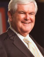 "~~ NEWT GINGRICH Authentic Hand-Signed ""Former speaker of the house"" 8x10 Photo"