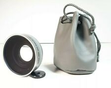 Bower VL4552 0.45X Digital Wide Lens for 52mm With Macro and Carrying Case