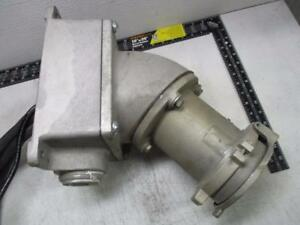 Crouse-Hinds Arktite Receptacle Body Grounded AR2041-S22 4 Wire 4 Pole 200 Amp