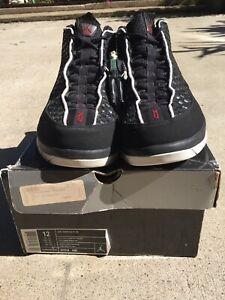 Nike Air Jordan XV 15 SE Black/Metallic Silver/Varsity Red Men's Size 12