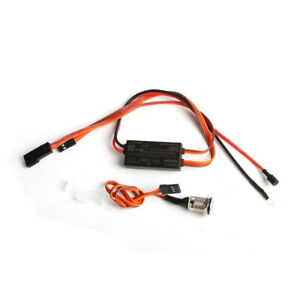 RCEXL On Board Glow System w/ Heat Sink & Cover for RC Nitro Engine New Version