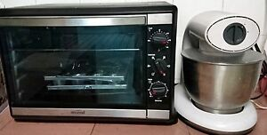 Mistral Oven, Mixer Combo and Khind Fan