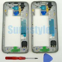 Original Housing Middle Frame Cover Fr Samsung Galaxy S5 G900F G900H G900A G900T