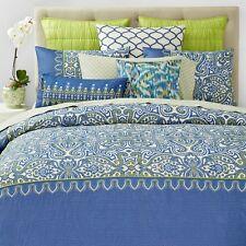 NEW SKY Selena FULL/QUEEN Duvet Cover & Shams Set MSRP $275 Y1391