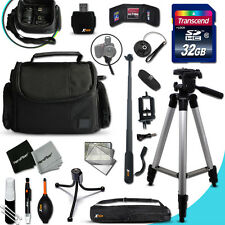 Xtech Kit for Canon POWERSHOT SX600 Ultimate w/ 32GB Memory + Case +MORE