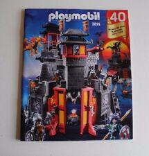 Playmobil  Catalogo del año 2014 - Castillo del dragon Katalog -  catalogue
