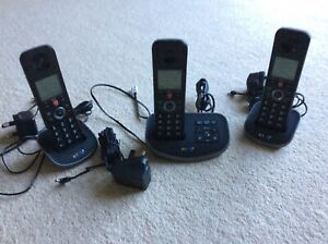BT Advanced Phone Trio With Cordless Answering Machine