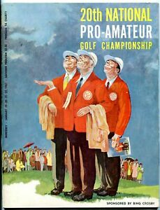 Bing's 20th National Pro-Amateur Golf Championship Program January 19-22 1961