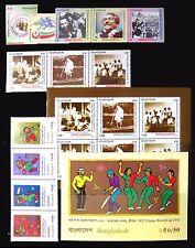 BANGLADESH 2011-12 Commemoratives Sets & M/Sheets U/M on 4 Pages NB2033