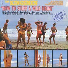 How to Stuff a Wild Bikini by Original Soundtrack CD rock Free Domestic Shipping
