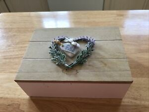 Small Wooden Storage Box With Lid