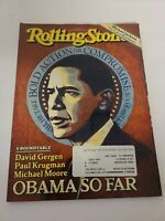 Rolling Stone  Issue 1085, Aug. 20, 2009  - Barack Obama on cover Complete EUC