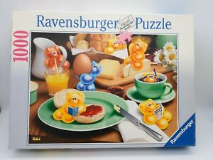 1000 Pieces Puzzle Gelini - Gelinis With Breakfast - Ravensburger - Rare