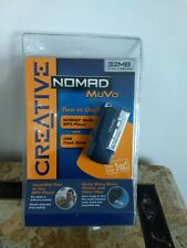 Creative NOMAD MuVo  MB32 MP3 Player and Flash Drive  TWO IN ONE ~NEW IN BOX
