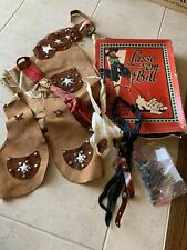 1950s Lasso 'Em Bill Western Set With Accessories! 10+ Pieces! With Box!