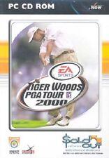 Tiger Woods PGA Tour 2000, PC CD-Rom Game.