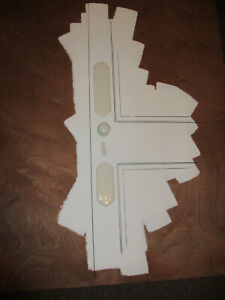 White Victorian Door Furniture Salvaged and Restored