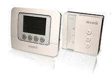 SECURE - Set SCS318: 7 Day Programmable Room Thermostat (Tx) + Wireless Relay