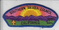 Boy Scouts America Southern Sierra Council Patch