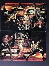Kiss Love GunTour 1978 Promo Tent Card from The KISS Army Kit Aucoin
