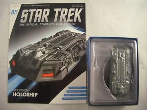 Star Trek Eaglemoss Starship Collection Issue 85 Federation Holoship