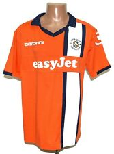 LUTON TOWN 2011/2013 HOME FOOTBALL SHIRT JERSEY CARBRINI SIZE L ADULT