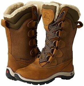 Karrimor Womens Firenze Boots Snow Waterproof Ski Leather Boots Tan Size 3-9