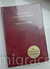 GREEK New Testament 4th revised edition NEW - The preferred text for Scholars