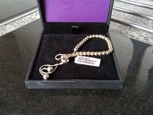 Gold plated Adjustable Ladies Women  Bracelet . Boxed. Free UK MAINLAND P&P