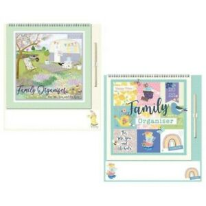 2022 Family Organiser / Calendar - with Note Section and Pen - Choose Design