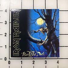 """Iron Maiden Fear of the Dark 4"""" Wide Vinyl Decal Sticker BOGO"""
