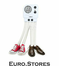 oneConcept Choobidoo 4 Tube Electric Shoes & Boots Dryer White Heater Genuine