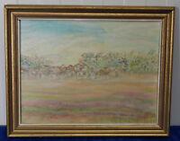Italienisches Landschaftsbild nach Ottone Rosai, Öl, Zweite Hälfte 20. Jhd.