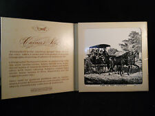 """CURRIER & IVES ART TILE """"LIFE IN THE COUNTRY -THE MORNING RIDE"""" TRIVET"""