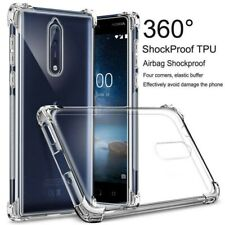 For Nokia 4.2 3.2 2.2 7.1 8.1 New Shockproof Silicone Soft Clear TPU Case Cover