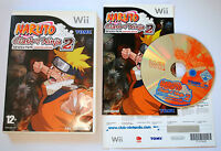 Jeu NARUTO CLASH OF NINJA 2 Revolution pour Nintendo Wii PAL COMPLET (CD OK)