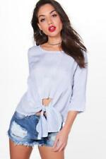 Camisa de mujer de color principal azul Talla 40