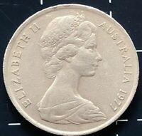 1977 AUSTRALIAN 5 CENT COIN