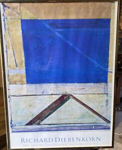 UNTITLED #7 RICHARD DIEBENKORN BLUE 20th Century Phillips Collection
