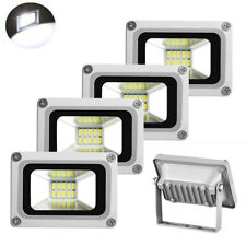 5pcs 10W Led Flood Light Cool White Smd 110V Outdoor Garden Spotlight Wall