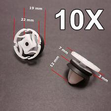 10x PEUGEOT Partner Porta Clip 699050