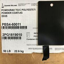 Sherwin Williams Black Powder Coat Paint Semi Gloss New 1lb Free Shipping