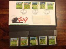 Royal Mail First Day Cover ~ PLUS 5 Gomma integra, non linguellato francobolli ~ GOLF ~ 5th LUGLIO 1994