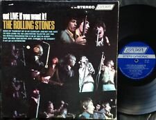 THE ROLLING STONES - GOT LIVE IF YOU WANT IT!  Ultrarare US 1966 STEREO LP! EX-