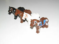 Lego ® Minifig Cheval Horse Choose Color ref 4493