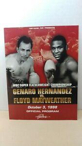 1998 Genaro Hernandez vs Floyd Mayweather Jr - Official Fight Program