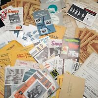 Ephemera lot photo envelopes Kodak photography advertisement junk journal paper