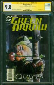 Green Arrow 2 CGC 2XSS 9.8 Kevin Smith Matt Wagner 2 Signed 2001 Cover