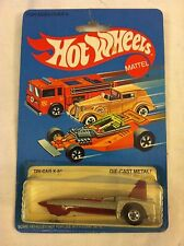 HOT WHEELS 1982 VINTAGE BLACKWALL TRICAR X-8 SILVER WITH STRIPES