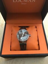 Locman Italy Montecristo Stealth Ladies Watch In Box New